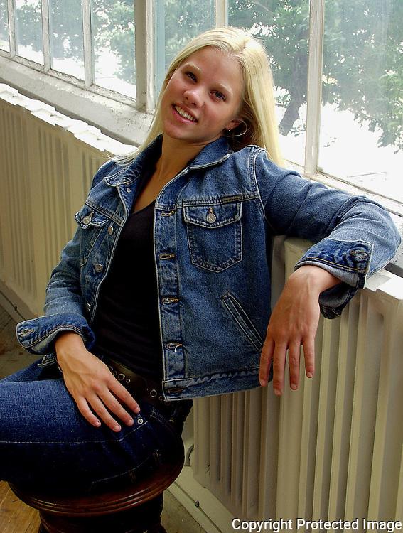 High school senior photo