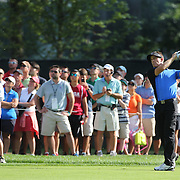 Stuart Appleby, Australia, in action during the fourth round of theThe Barclays Golf Tournament at The Ridgewood Country Club, Paramus, New Jersey, USA. 24th August 2014. Photo Tim Clayton
