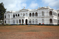 The Colombo Museum, as it was called at the beginning, was established in 1877. It founder was Sir William Henry Gregory, the British Governor of Ceylon at the time. The Royal Asiatic Society was instrumental in its development from the beginning.  The construction was completed in 1876 and the Museum opened the following year.  The museum took various steps to display the cultural and natural heritage of Sri Lanka. With the development of the museum to international level, it earned the status of a national museum.
