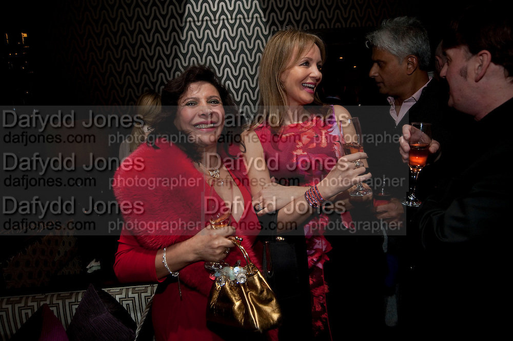 DEIDA ACERO; IZABELLA KAY, Liz Brewer GIVES A PARTY TO WELCOME 2010, Champagne <br /> Flemings Mayfair, 13 Half Moon Street, London. 5 January 2010