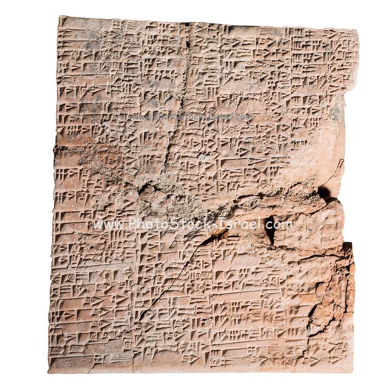 Cuneiform Clay Tablet 2nd millennium BC 15.5 x 13.5 cm