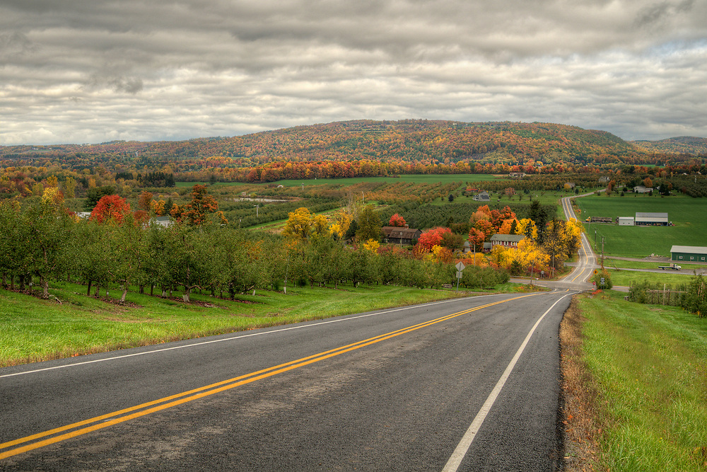 Scenic views along Highway 20 in LaFayette, NY on Wednesday, October 19, 2016. Copyright 2016 Jason Barnette