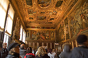 Italy, Venice, Palazzo Ducale Interior