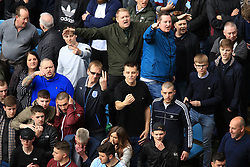 23 April 2017 - EFL Championship Football - Aston Villa v Birmingham City - Aston Villa fans abuse Birmingham City fans - Photo: Paul Roberts / Offside