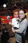 l to r: Jordan and her mother Kelley at the 139th Annual Ringling Brothers and Barnum & Bailey Circus opens their 139th Season on March 26, 2009 held at Madison Square Garden  in New York City.