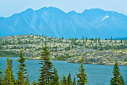 Coast Mountains. South Klondike Highway<br />Chilkoot Pass<br />British Columbia<br />Canada