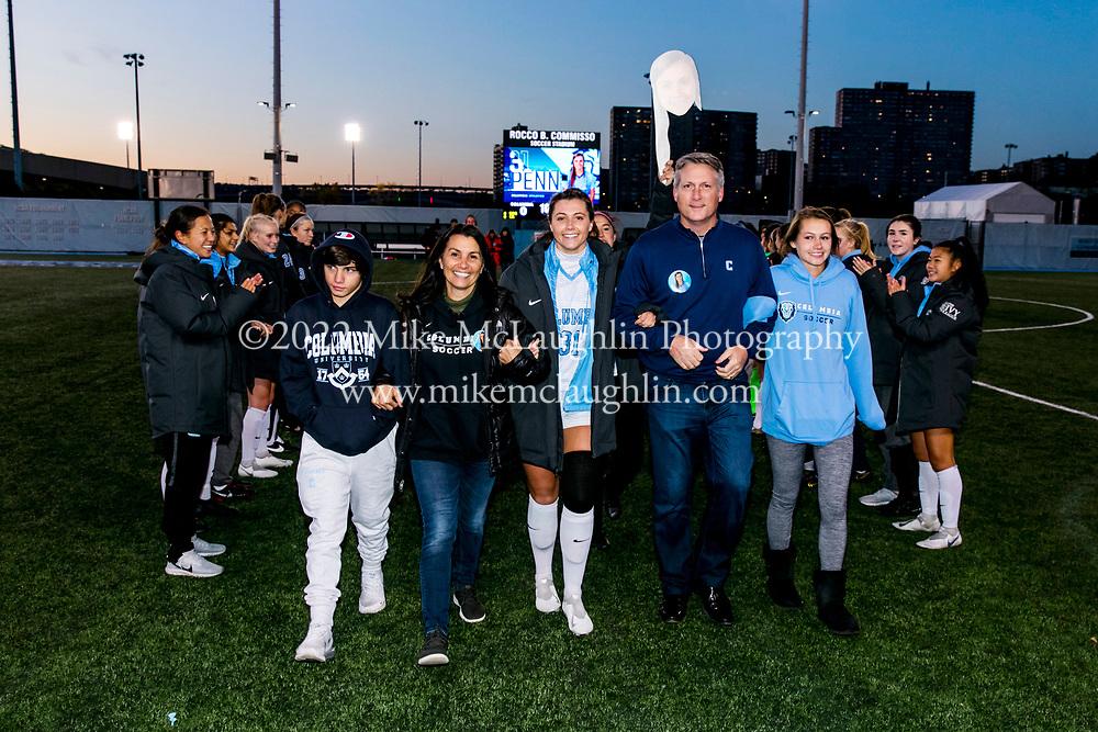 November 9, 2019 New York, NY<br /> Columbia University women's soccer v. Harvard University.<br /> 2019 Mike McLaughlin<br /> https://mclaughlin.photoshelter.com/<br /> Mike McLaughlin