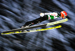 16.12.2017, Gross Titlis Schanze, Engelberg, SUI, FIS Weltcup Ski Sprung, Engelberg, im Bild Markus Eisenbichler (GER) // Markus Eisenbichler of Germany during Mens FIS Skijumping World Cup at the Gross Titlis Schanze in Engelberg, Switzerland on 2017/12/16. EXPA Pictures © 2017, PhotoCredit: EXPA/JFK