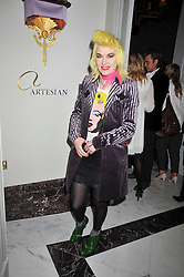 PAM HOGG at a party to celebrate the publication of Stephanie Theobold's book 'A Partial Indulgence' held at the Langham Hotel, Portland Place, London on 21st April 2009.