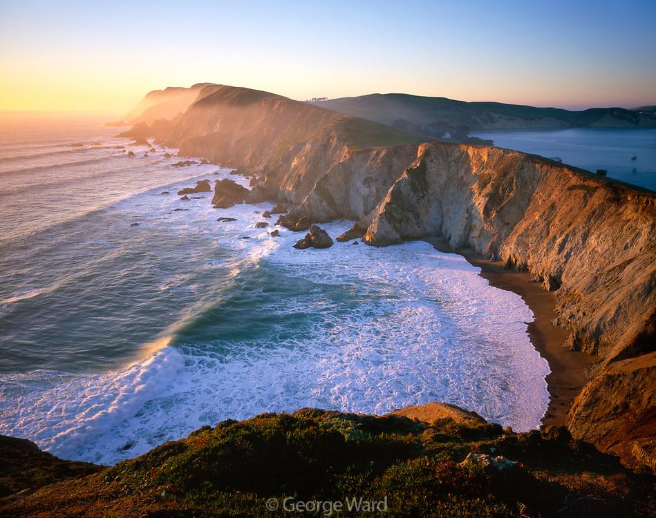 Point Reyes from Chimney Rock, Point Reyes National Seashore, California