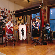 Cindy Sherman at her New York Photo Studio.