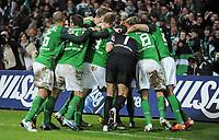 Fotball<br /> Tyskland<br /> 15.01.2011<br /> Foto: Witters/Digitalsport<br /> NORWAY ONLY<br /> <br /> Jubel nach dem 2:1 durch Torsten Frings (Werder)<br /> Bundesliga, SV Werder Bremen - TSG 1899 Hoffenheim