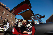 GP TAZIO NUVOLARI 2012. Mantova, MERCEDES 300 SL SPYDER 1958
