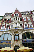 Art Nouveau Building in Riga, Latvia