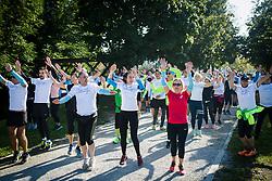 Runners during recreational jogging Zalin urbani tek, on September 21, 2019 in Ljubljana, Slovenia. Photo by Sasa Pahic Szabo / Sportida