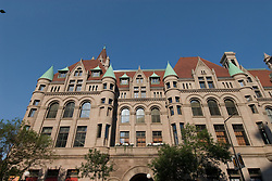 Minnesota, Twin Cities, Minneapolis-Saint Paul: The Landmark Building in downtown St Paul, by Rice Park.  This former Federal Building now hosts arts organizations..Photo mnqual288-75003..Photo copyright Lee Foster, www.fostertravel.com, 510-549-2202, lee@fostertravel.com.