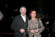 JONATHAN PRYCE; KATE FAHY, Clybourne Park Press night. Opened at Wyndham's Theatre. Party afterwards at Mint Leaf, Haymarket, London. 8 February 2011.  -DO NOT ARCHIVE-© Copyright Photograph by Dafydd Jones. 248 Clapham Rd. London SW9 0PZ. Tel 0207 820 0771. www.dafjones.com.