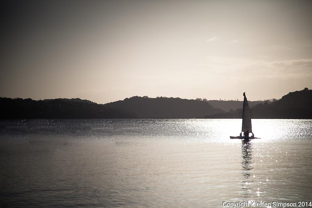 Sailing at the Shangri La