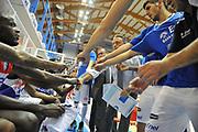 DESCRIZIONE : Brindisi Lega A 2014-15 Enel Brindisi  Consultinvest Pesaro<br /> GIOCATORE : Team<br /> CATEGORIA :  Team<br /> SQUADRA : Enel Brindisi<br /> EVENTO : Campionato Lega A 2014-15 GARA : Enel Brindisi Consultinvest Pesaro DATA : 12/10/2014 <br /> SPORT : Pallacanestro <br /> AUTORE : Agenzia Ciamillo-Castoria/V.Tasco <br /> Galleria : Lega Basket A 2014-2015 Fotonotizia : Brindisi Lega A 2014-15 Enel Brindisi Consultinvest Pesaro  <br /> Predefinita :