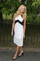 Clara Paget, The Serpentine Gallery Summer Party, Serpentine Gallery, London UK,  06 July 2016, Photo by Richard Goldschmidt