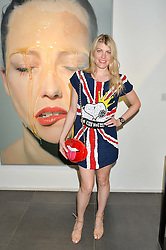 MEREDITH OSTROM at a private view of woks by German artist Mike Dargas held at the Opera Gallery, 134 New Bond Street, London on 5th July 2016.