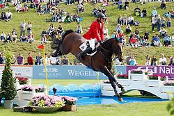 Demeersman Dirk (BEL) - Bufero vh Panishof<br /> FEI Nations Cup Sankt Gallen 2011<br /> © Hippo Foto - Beatrice Scudo