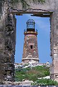 lighthouse, Elbow Cay, Cay Sal Bank, Bahamas ( Western Atlantic Ocean )