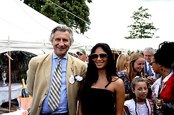 ARNAUD BAMBERGER and NICOLE SCHERZINGER at the Cartier Style et Luxe, the Goodwood Festival of Speed, West Sussex on 13th July 2008.<br /> <br /> NON EXCLUSIVE - WORLD RIGHTS