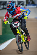 #101 (HOWELL Shanayah) ARU at Round 1 of the 2020 UCI BMX Supercross World Cup in Shepparton, Australia