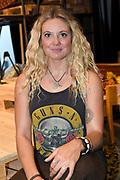 Open repetitie HAIR in de studio van Stage Entertainment.<br /> <br /> op de foto:  Lisanne Schut