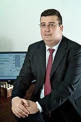 O diretor administrativo-financeiro da Camera, Fábio Magdaleno, que recentemente inaugurou uma unidade de produção de biodiesel e pretende se tornar a maior processadora de soja do RS em 2011. FOTO: Jefferson Bernardes/Preview.com