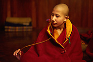 Tara moring prayer in Tek Chok Ling nunnery.