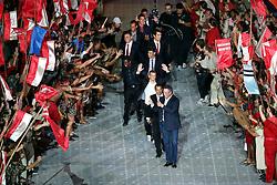 Os campeões da LIbertadores na Festa Gigante - Reinauguração do Beira-Rio, neste sábado 05 de abril de 2014. O estádio Beira Rio receberá os jogos da Copa do Mundo de Futebol 2014. FOTO: Jefferson Bernardes/ Agência Preview