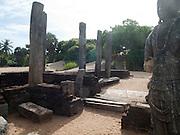 Sri Lanka, Ampara District, Pottuvil, the archaeological reserve of Mudu Maha Vihara