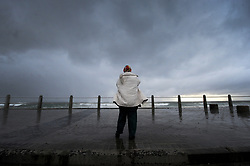South Africa - Cape Town - 10 June 2020 - Grey skys over Sea Point. Stormy weather engulfs Cape Town. Photographer: Armand Hough/African News Agency(ANA)