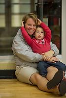 St Pauls School varsity and junior varsity volleyball with Andover. ©2017 Karen Bobotas Photographer