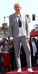Sept. 5, 2012 - Los Angeles, United States - .US SALES ONLY....September 4, 2012, Los Angeles, CA.....Ellen DeGeneres receives a star onThe Hollywood Walk of Fame on September 4, 2012 in Los Angeles, CA......... (Credit Image: © Famous/Ace Pictures/ZUMAPRESS.com)