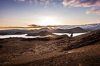 Pinnacle Rock, Bartolome Island, Galapagos
