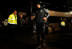 Zlatan Ibrahimovic of Manchester United arrives at Ashton Gate for the Carabao Cup Quarter Final tie with Bristol City - Mandatory by-line: Robbie Stephenson/JMP - 20/12/2017 - FOOTBALL - Ashton Gate Stadium - Bristol, England - Bristol City v Manchester United - Carabao Cup Quarter Final