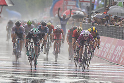 May 23, 2018 - Iseo, Italy - Winner stage 17  Elia Viviani Quick-Step Floorsduring the 101st Tour of Italy 2018, Stage 17 RIVA DEL GARDA-ISEO (FRANCIACORTA STAGE),  155 km  on May 23, 2018 in Iseo, Italy  (Credit Image: © Fabio Averna/NurPhoto via ZUMA Press)
