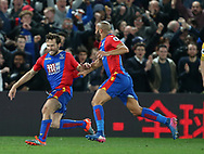 Crystal Palace's Yohan Cabaye celebrates scoring his sides second goal during the Premier League match at Selhurst Park Stadium, London. Picture date: April 10th, 2017. Pic credit should read: David Klein/Sportimage