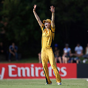 Ellyse Perry celebrates a wicket  during the ICC Women's World Cup Cricket play off for third place between Australia and India at Bankstown Oval, Sydney, Australia on March 21, 2009. India beat Australia by three wickets. Photo Tim Clayton