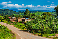 Along the road in Kabarole District, Uganda.