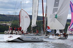 The Silvers Marine Scottish Series 2014, organised by the  Clyde Cruising Club,  celebrates it's 40th anniversary.<br /> Day 1<br /> K3797, Drum, Sir Arnold Clark, CCC, Holland 77<br /> Racing on Loch Fyne from 23rd-26th May 2014<br /> <br /> Credit : Marc Turner / PFM