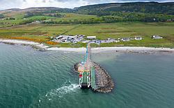 Caledonian Macbrayne Isle of Gigha passenger ferry terminal at Tayinloan, Kintyre, Scotland UK