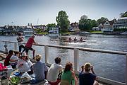 Henley on Thames, England, United Kingdom, 28th June 2019, Henley Royal Regatta Qualifiers, time trial, on Henley Reach, [© Peter SPURRIER/Intersport Image]<br /> <br /> 15:32:56