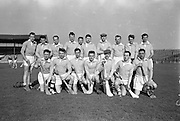 Railway Cup Semi-Final, Munster v Ulster, at Croke Park. Ulster Team..24.02.1963