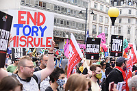 The People's Assembly protest london . photo by Krisztian Elek