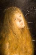 'The Penitent Magdalen' 1877, oil painting on canvas by Hans Heyerdahl 1857-1913, Kode 3 art gallery Bergen, Norway