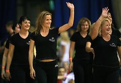 Sove Mothers, Slovenia at European Cheerleading Championship 2008, on July 5, 2008, in Arena Tivoli, Ljubljana, Slovenia. (Photo by Vid Ponikvar / Sportal Images).